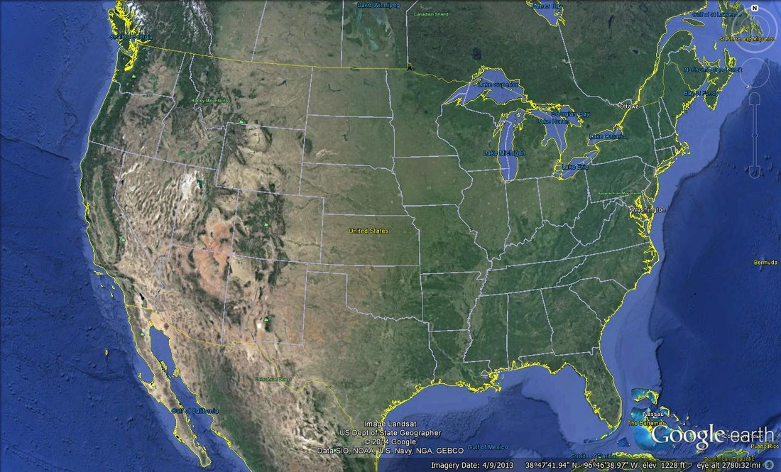Google Map California Usa
